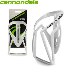Cannondale Speed-C Lightweight Nylon Water Bottle Cage - White 45g