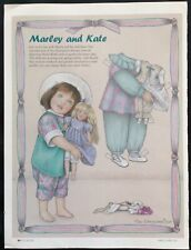 Helen Kish's Marley & Kate Magazine Paper Doll, 2001, by Sue Shanahan, Doll Mag.