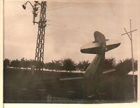 FOTO AEROPLANO INCIDENTE AEREO CADUTO  - 3-317