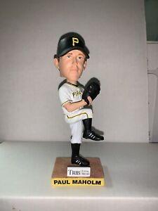 Paul Maholm Pittsburgh Pirates Bobblehead Chicago Cubs Atlanta Braves LA Dodgers