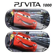 Sony PS Vita PSV 1000 Skin Decal Sticker Vinyl Wrap Racing Cars McQueen 1