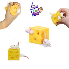 Stretchy mice and cheese sensory fidget play toy autism stress ball