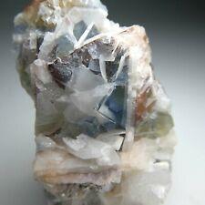 More details for **blue fluorite & barite - gutterby mine, cumbria, england (florence, egremont)