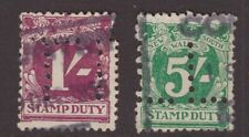 NSW 2 x stamp duty with private perfins