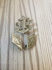 More details for vintage boys brigade captain badge and two diamond service badges