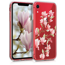 TPU Case Hülle Apple iPhone XR Magnolien