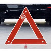 RED Reflective Car Warning Sign Foldable Triangle Hazard Breakdown EU Emergency