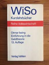Einführung in die Geldtheorie, 13. Aufl. von Otmar Issing (2003)