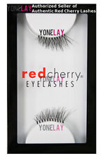 Lot 3 Pairs GENUINE RED CHERRY DS03 Jane Accent False Eyelashes Half Lashes