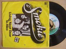 "SMOKIE living next door to Alice / run to you GERMANY VINYL 7"" 45 RAK 1976"