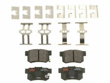 For 2006-2011 Acura CSX Brake Pad Set Rear TRW 74833SB 2007 2008 2009 2010