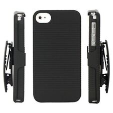 FOR APPLE IPHONE 4TH 4G 4S 4GS HARD SHELL HOLSTER COMBO CASE COVER HOLDER STAND
