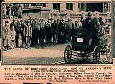 1930 ROTOGRAVURE GOTTFRIED SCHLOEMER MILWAUKEE FAY CUSICK 1ST GAS POWER AUTO
