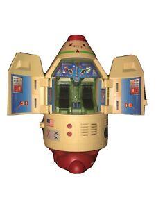 Toy Story Buzz Lightyear Space Shuttle Toy Light up Sounds Lanard Vintage 1998
