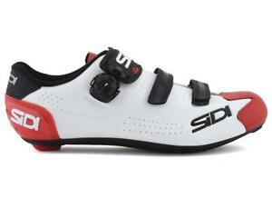 Sidi Alba 2 Road Shoes (White/Black/Red)