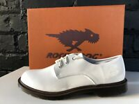 Rocket Dog Size 7 Women's Lander White Flat Shoes Lace Ups Smart Casual EU 40