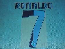 Spanish La Liga  2012-2013 Real Madrid #7 Ronaldo Homekit NameSet Printing