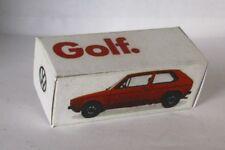 Repro Box Schuco 1:66 VW Golf Werbeschachtel