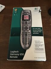 Logitech Harmony 650 All in One Programmable Remote Control (Universal, Silver)
