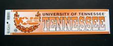University of Tennesse Bumper Sticker NCAA Unused Wincraft
