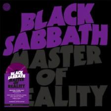 Black Sabbath Master Of Reality Vinile Lp Colorato + Poster Rsd 21 Nuovo