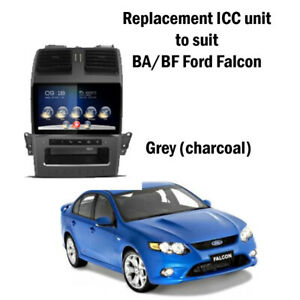NEW Kayhan Falcon BA BF Stereo Upgrade Ford  ICC Replacement GREY VERSION 2