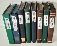 Collezione lotto 750 cartoline FDC annullo primo giorno emissione ITALIA 1967-84