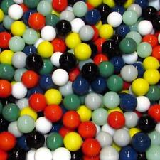 """Marble King Two Pounds 9/16"""" (14mm) Opaque Mix Glass Marbles 99310019"""