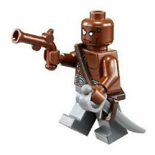 Lego Gunner Zombie Minifig w Sword Pistol 4195 Pirates of the Caribbean MINT!