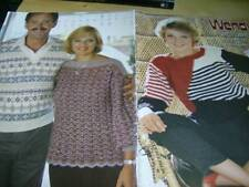 Wendy Shetland At The Crossroads Motel Knitting Book -15 Designs Mens & Ladies