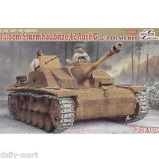 Dragon 1/35 6454 10.5cm Sturnhaubitze 42 Ausf.G w/Zimmerit Model Kit