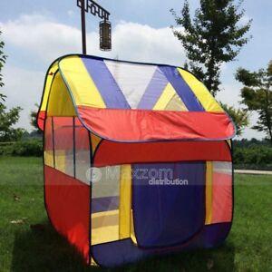 Ultra Large kids tent playhouse children's pop up play tent house Blue Ku