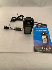 Garmin GPS  GolfLogix Handheld Range Finder with usb cable & guide
