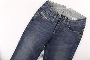 Neu Diesel Jeans Damenjeans LIV SPECIAL Blau WASH 008CK_Stretch W 24 26 28 L 34