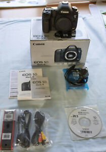 Canon EOS 5D Mark III - with original box and accessories. Used