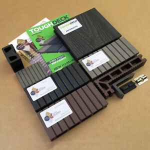 Composite Decking Boards FULL SAMPLE PACK - 10 Year Warranty!