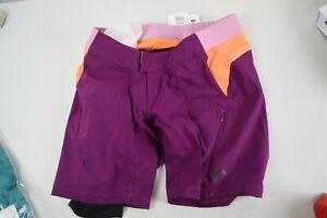 Pearl Izumi Canyon Lined Cycling Shorts Womens Small Purple Performance