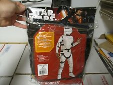 RUBIES STAR WARS FLAMETROOPER COSTUME SIZE LARGE NEW FAST / FREE SHIPPING