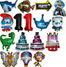 KIDS BOYS/GIRLS THEMED SUPERSHAP BALLOON DECORATION BIRTHDAY PARTY SUPPLIES 1PCE