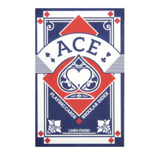 Blue Ace Linen Finish Regular Index Playing Cards