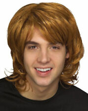 Ginger SHAG WIG Boy Band Wig Hair 1970s 80s FANCY DRESS BEE GEE MULLET Costume