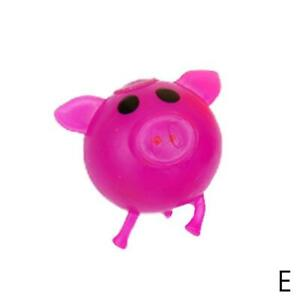 1Pc Venting Toy Pig Shape Ball Decompression Game Variability And Recovery Hot