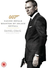 Daniel Craig 007 DVD Collection Casino Royale Quantum of Solace Skyfall