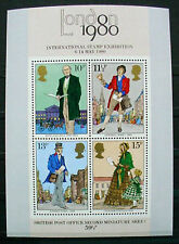 GREAT BRITAIN 1980: INTERNATIONAL STAMP EX POST OFFICE SECOND M/S
