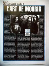 COUPURE DE PRESSE-CLIPPING :  DEATH ANGEL 04/2004 Studio Report,The Art Of Dying
