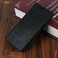 Luxury Genuine Leather Wallet Flip Case Cover For Oppo R11/R11 Plus