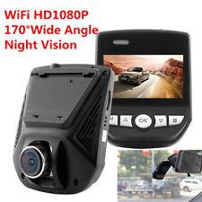 "2.45"" HD 1080p IN CAR DVR CRASH CAMERA RECORDER WIFI IPS LCD 170 LENS G-Sensor"