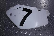 1999 HONDA CR 80 R LEFT SIDE COVER PANEL NUMBER PLATE 83610-GBFH-8300 CR80 99