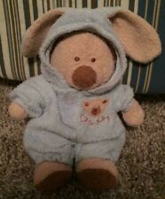 "7"" Ty Beanie Babies PLUFFIES Teddy Bear Bunny PJ's Pajamas Removable Plush PJ"