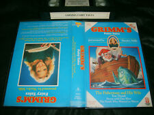 VHS *GRIMM'S FAIRY TALES* 1986 Mega Rare Hi-Tops Video Presented by Hayley Mills